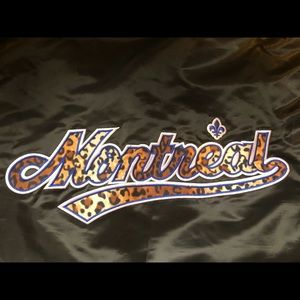 MLB Montreal Expos Retro Starter Jacket